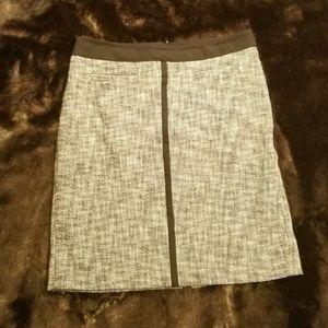 Black & White Talbots  Career Pencil Skirt Size 12